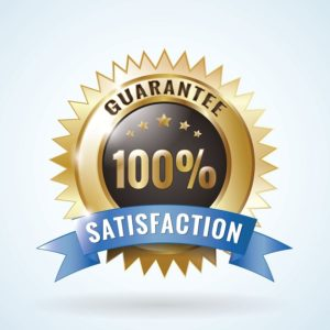 Guarantee Satisfaction